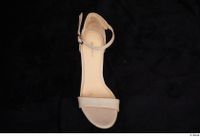 Clothes  264 beige high heels shoes 0002.jpg