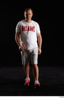 Louis  2 front view grey shorts red sneakers sports white t shirt whole body 0005.jpg