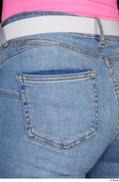 Vinna Reed blue jeans casual dressed hips 0004.jpg