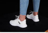 Vinna Reed foot shoes sports white sneakers 0004.jpg