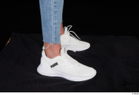 Vinna Reed foot shoes sports white sneakers 0007.jpg