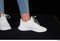 Vinna Reed foot shoes sports white sneakers 0009.jpg