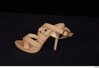 Clothes   268 brown high heels shoes 0006.jpg