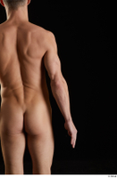 Lutro  1 arm back view flexing nude 0001.jpg