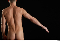 Lutro  1 arm back view flexing nude 0002.jpg