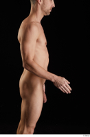Lutro  1 arm flexing nude side view 0002.jpg