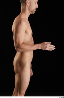 Lutro  1 arm flexing nude side view 0003.jpg