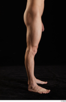 Lutro  1 flexing leg nude side view 0001.jpg