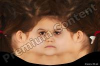 Girl head premade texture 0002