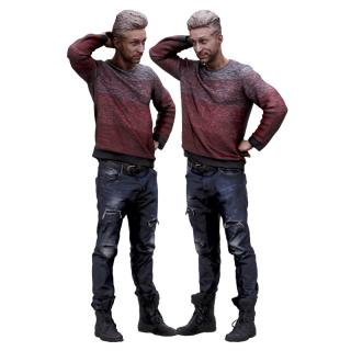 Cleaned 3D scan Lutro Casual Standing