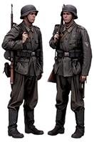 Cleaned Raw 3D Body scan of Soldier of Wehrmacht 01