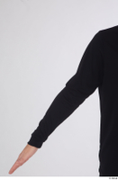 Arvid arm black long sleeve t shirt dressed sports upper body 0001.jpg