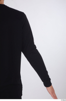 Arvid arm black long sleeve t shirt dressed sports upper body 0004.jpg