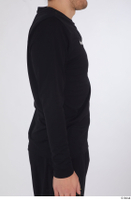Arvid arm black long sleeve t shirt dressed sports upper body 0005.jpg