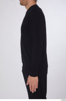 Arvid arm black long sleeve t shirt dressed sports upper body 0006.jpg