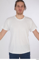 Arvid casual dressed upper body white t shirt 0001.jpg