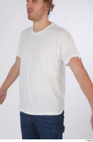 Arvid casual dressed upper body white t shirt 0002.jpg