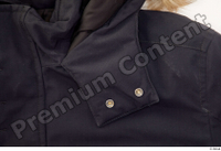 Clothes   271 black coat black parka casual 0006.jpg