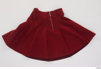 Clothes   272 clothing red skirt 0002.jpg