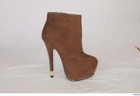 Clothes   272 brown ankle heeled boots shoes 0004.jpg