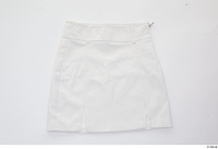 Clothes   274 casual clothing white short leather skirt 0002.jpg