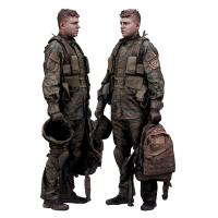 Cleaned 3D Body scan of Army man Standing 42