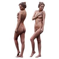 Cleaned 3D Body scan of Shenika Standing
