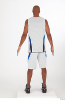 Tiago basketball clothing black sneakers dressed standing white shorts white tank top whole body 0005.jpg