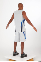 Tiago basketball clothing black sneakers dressed standing white shorts white tank top whole body 0014.jpg