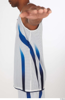 Tiago basketball clothing dressed sports upper body white tank top 0003.jpg