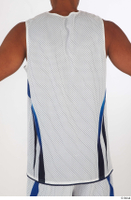 Tiago basketball clothing dressed sports upper body white tank top 0005.jpg