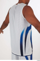 Tiago basketball clothing dressed sports upper body white tank top 0006.jpg