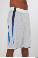 Tiago basketball clothing dressed sports thigh white shorts 0008.jpg