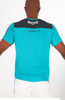 Tiago blue t shirt dressed sports upper body 0006.jpg