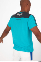 Tiago blue t shirt dressed sports upper body 0007.jpg