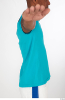 Tiago blue t shirt dressed sports upper body 0008.jpg