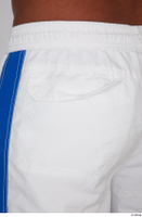 Tiago dressed sports thigh white capri shorts 0011.jpg