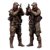 Cleaned 3D Body scan of Army man Reloading
