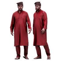 Cleaned 3D scan Arthur Fuller Old Village Man Afghanistan Suit Walk