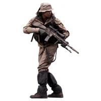 Cleaned 3D scan Reece Bates Army Seal Team Standing