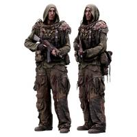 Cleaned 3D scan John Hopkins Army Postapocalyptic Standing