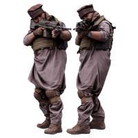 Cleaned 3D scan Luis Donovan Army Taliban Gunner Standing