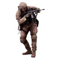 Cleaned 3D scan Robert Watson Army AČR Paratrooper Crouch