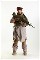 Photos Luis Donovan Army Taliban Gunner Poses