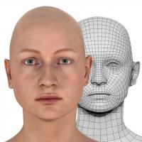 Luisa Perry Head Scan V2