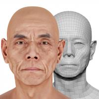 Takemoto Junzo Head Scan V2