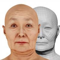 Ueyama Aya Head Scan V2