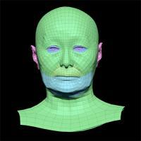 Ueyama Aya Subdivs 3D Model