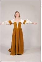 Photos Medieval Civilian in dress 2