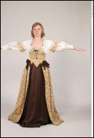 Photos Medieval Civilian in dress 3